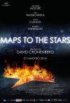 Maps to the stars: il poster italiano del film