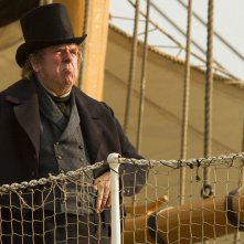 Mr. Turner: Timothy Spall in una scena