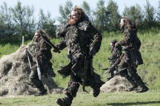 Il trono di spade: Kristofer Hivju in una scena dell'episodio Breaker of Chains