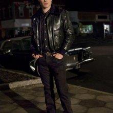 The Vampire Diaries: Ian Somerhalder in una scena dell'episodio Man on Fire