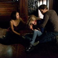 The Vampire Diaries: Paul Wesley e Kat Graham nell'episodio Man on Fire