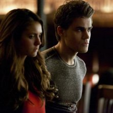 The Vampire Diaries: Paul Wesley e Nina Dobrev nell'episodio Man on Fire