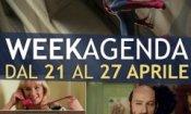Week-Agenda: sette giorni tra supereroi, ninfomani e centenari