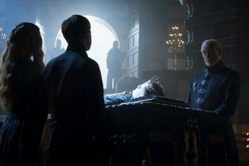 Il trono di spade: Charles Dance nell'episodio Breaker of Chains, quarta stagione