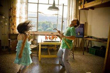 Diario di un maniaco perbene: Giorgio Pasotti in una concitata scena del film