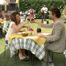 Luca Bizzarri con Geppi Cucciari in Un fidanzato per mia moglie: una immagine esclusiva del film