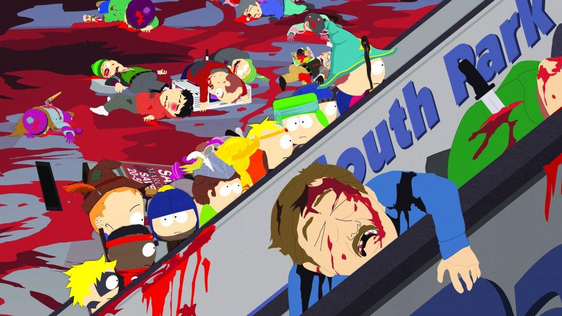 South Park Una Scena Dell Episodio Titties And Dragons 367212