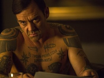 The Equalizer - Il vendicatore: un torvo primo piano di Marton Csokas