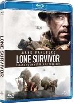 La copertina di Lone Survivor (blu-ray)