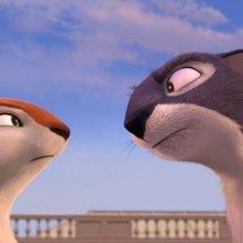 Nut Job - Operazione noccioline: Andie e Surly in una buffa immagine tratta dal film