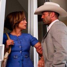 Parker: Jennifer Lopez insieme a Jason Statham in una scena