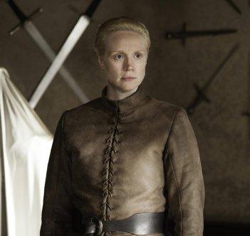Il trono di spade: Gwendoline Christie nell'episodio Oathkeeper, quarta stagione