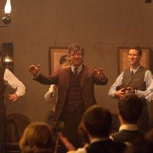 Jimmy's Hall: Barry Ward in una scena gioiosa tratta dal film