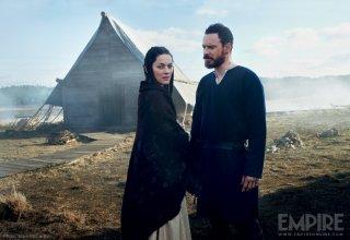 Macbeth: Michael Fassbender e Marion Cotillard in un'immagine promozionale di Empire