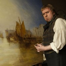 Mr. Turner: Timothy Spall in una scena del film