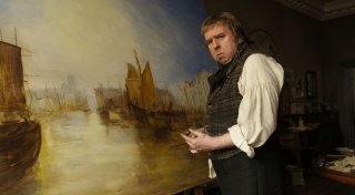 Mr. Turner: Timothy Spall in una scena del film