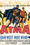 Batman con Adam West e Burt Ward - Locandina promozionale straniera