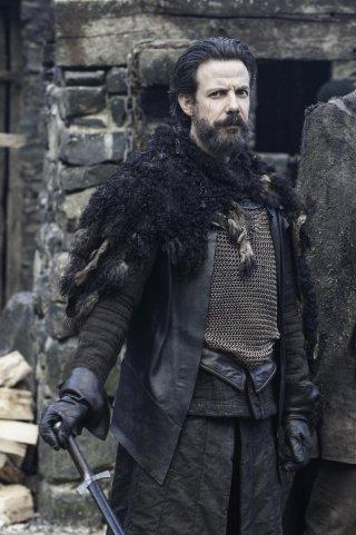 Il trono di spade: Noah Taylor nell'episodio Oathkeeper, della quarta stagione