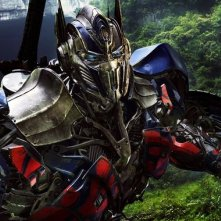 Transformers: Age of Extinction: un robot in azione