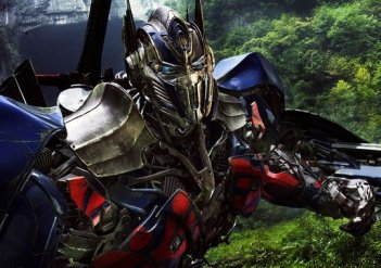 Transformers: Age of Extinction: un robot in azione