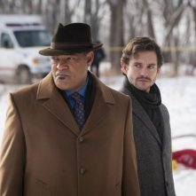 Hannibal: Hugh Dancy e Laurence Fishburne nell'episodio Shiizakana, seconda stagione