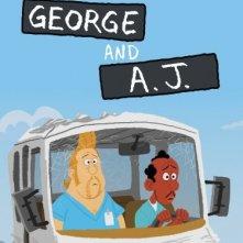 La locandina di George & A.J.