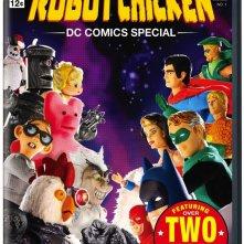 La locandina di Robot Chicken: DC Comics Special