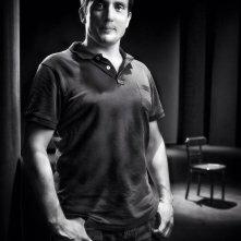 La palmira - Il film: il regista Alberto Meroni in una foto promozionale