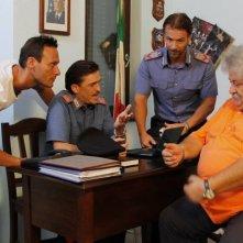 Vacanz...ieri oggi e domani: Lucio Ciotola, Ernesto Lama e Fabio Massa in una scena