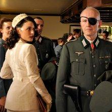 Il tempo del coraggio e dell'amore: Adriana Ugarte in un momento della serie