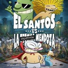 La locandina di El Santos VS la Tetona Mendoza