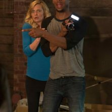 Ghost Movie 2 - Questa volta è guerra: Jaime Pressly con Marlon Wayans in una scena
