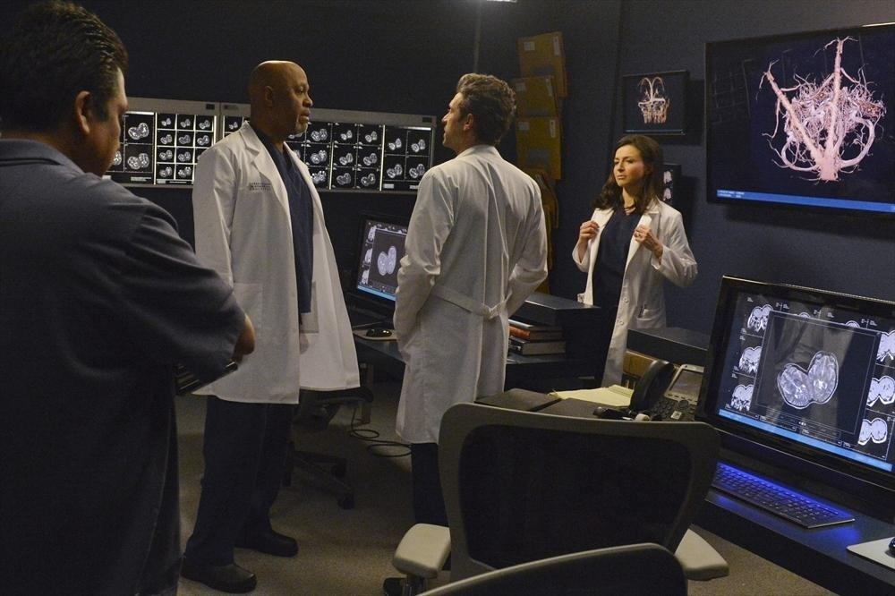 Grey S Anatomy James Pickens Jr Nell Episodio We Are Never Getting Back Together 371503