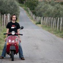 Sogni di gloria: Gabriele Pini in un'immagine tratta dal film