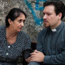 Sogni di gloria: Miriam Bardini con Riccardo Goretti in una scena
