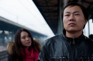 Sogni di gloria: Xiuzhong Zhang in una scena del film