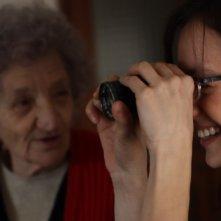 Diana Dell'Erba e Cecilia Mangini in Registe - dialogando su una lametta