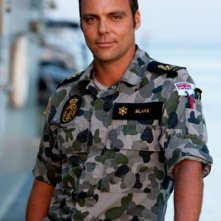 Matthew Holmes è Chris 'Swain' Blake in Sea Patrol