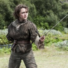 Il trono di spade: Maisie Williams nell'episodio First of His Name, quarta stagione