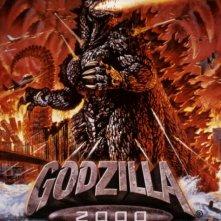 La locandina di Godzilla 2000