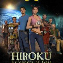 La locandina di Hiroku: Defenders of Gaia