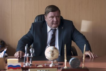 Leviathan: Roman Madyanov in una scena del film