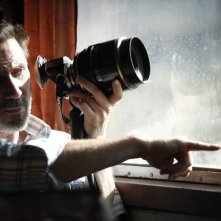 The search: il regista Michel Hazanavicius in una foto dal set