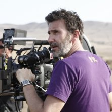 The search: il regista Michel Hazanavicius sul set