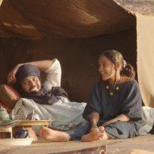 Timbuktu: Kidane Ibrahim in una scena del film con Toulou Kiki e Layla Walet Mohamed