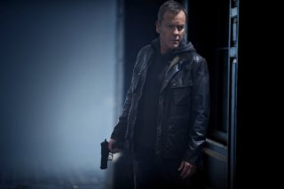 24: Live Another Day, Kiefer Sutherland è Jack Bauer in una scena