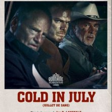 Cold in July: il poster del film