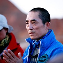 Coming home: il regista Zhang Yimou sul set del film