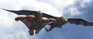 Dragon Trainer 2: Hiccup in volo con Sdentato in una spettacolare scena del film