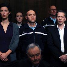 La chambre bleue: Stéphanie Cléau in tribunale con Mathieu Amalric